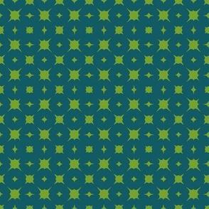 teal/bright green summer splash