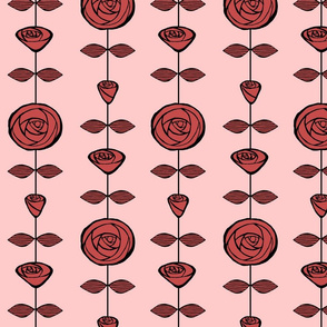 roses-on-string-red-pink