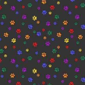Pride Paws - Gay/Lesbian Rainbow