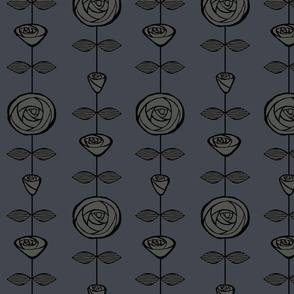 roses-on-string-grey