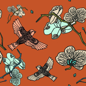 birds_and_bloom_red_bg