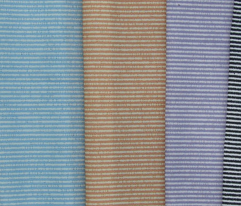 French Linen Petite Stripe - salt and pepper