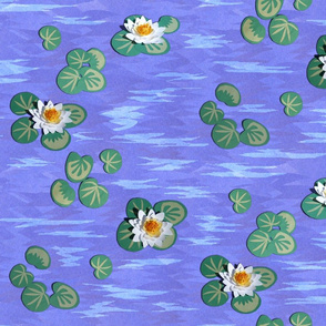 Bold_Paper_Water_Lilies_