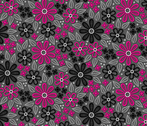 Daisy Chains fabric by robyriker on Spoonflower - custom fabric