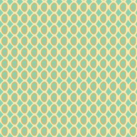 Sea Glass #SAGE BEACH  fabric by franbail on Spoonflower - custom fabric