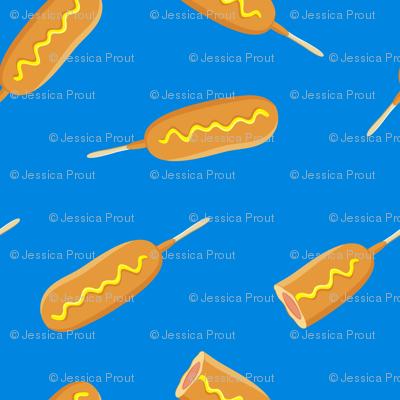 corn dog - fair food