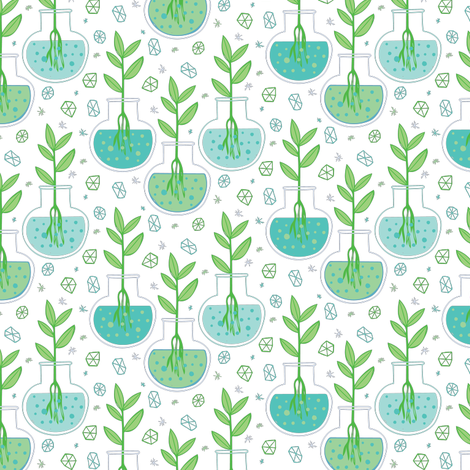 Botany fabric by jacquelinehurd on Spoonflower - custom fabric