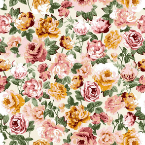 Sunny Floral - Ivory