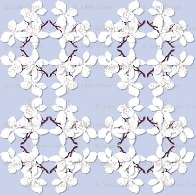 Cut Paper Cherry Blossoms