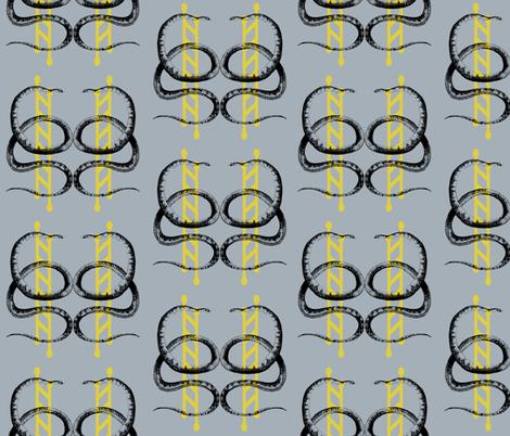 Snakes and Ladders fabric by sarahjaynebird on Spoonflower - custom fabric