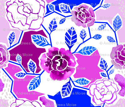 Paper-cut Roses