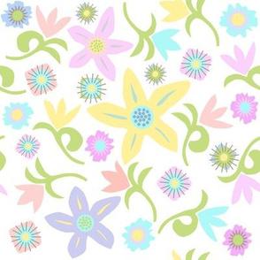 Matisse Spring Tulips, pastels