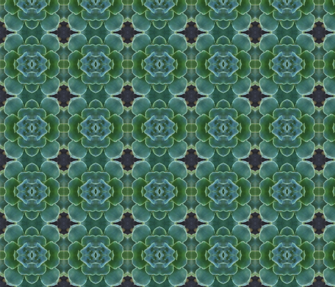 succulence 3 fabric by hypersphere on Spoonflower - custom fabric