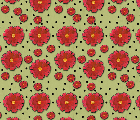 Watermelon Wine fabric by oceangirlcreativeco on Spoonflower - custom fabric