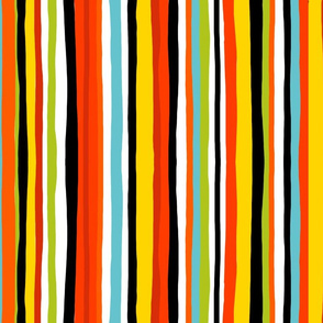 Summer stripe vertical