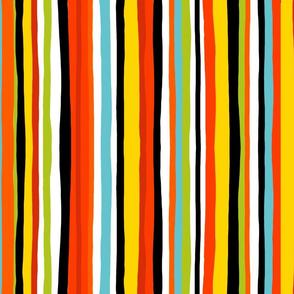 Summer stripe vertical