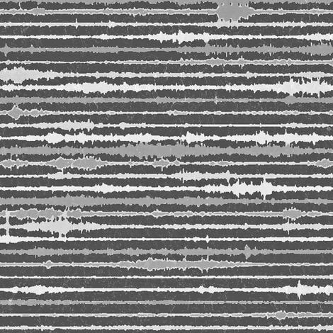 Seismic Shibori -  chalkboard fabric by materialsgirl on Spoonflower - custom fabric