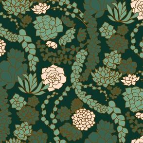 Succulent Waltz - Forest