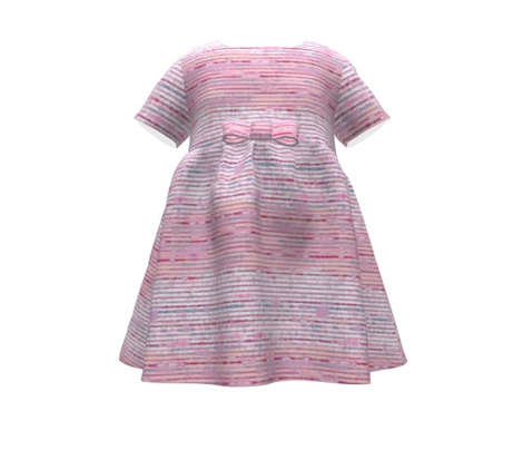 Seismic Shibori Wash - party pink
