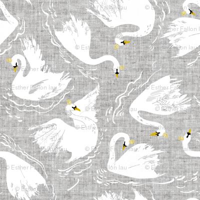 Swan Lake (pewter)