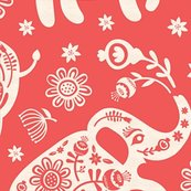 Relephants_floral-red_papercut_shop_thumb