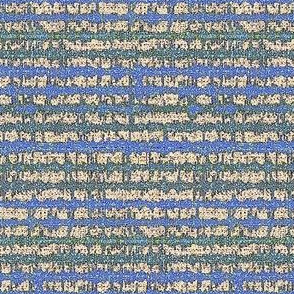 Seismic Shibori Stone - green, blue, beige