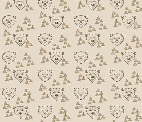 Brothers Bear fabric by matildamoose on Spoonflower - custom fabric