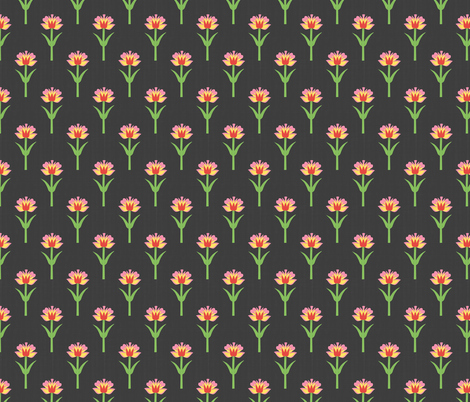 Paper Bloom fabric by thewellingtonboot on Spoonflower - custom fabric