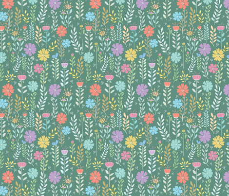 Florals-flora-flower03 fabric by y_me_it's_me on Spoonflower - custom fabric