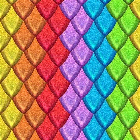 Scales 4 fabric by jadegordon on Spoonflower - custom fabric