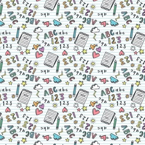 abc fabric wallpaper gift wrap spoonflower