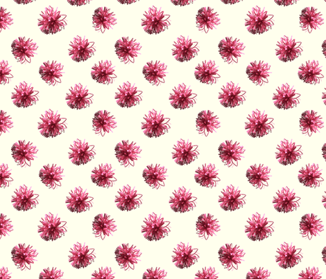 paper flowers fabric by craftwithcartwright on Spoonflower - custom fabric