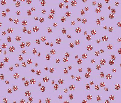 Peppermint Candy in Purple
