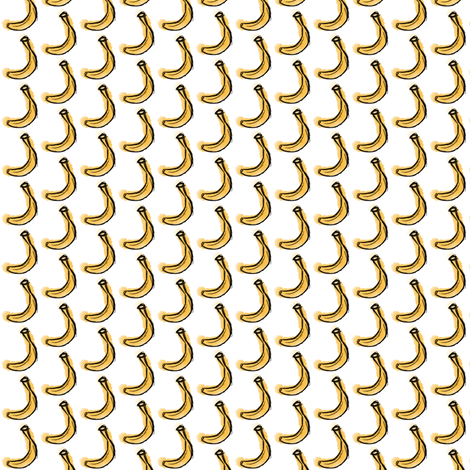 Banana Small fabric by boringpalace on Spoonflower - custom fabric