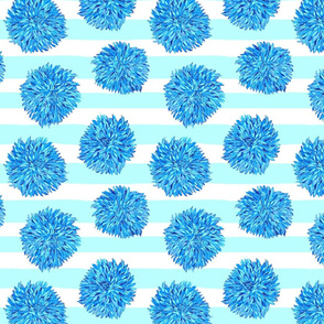 Dahila_stripes_print