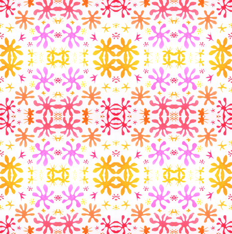 Matisseinspiredfloral fabric by marigoldpink on Spoonflower - custom fabric