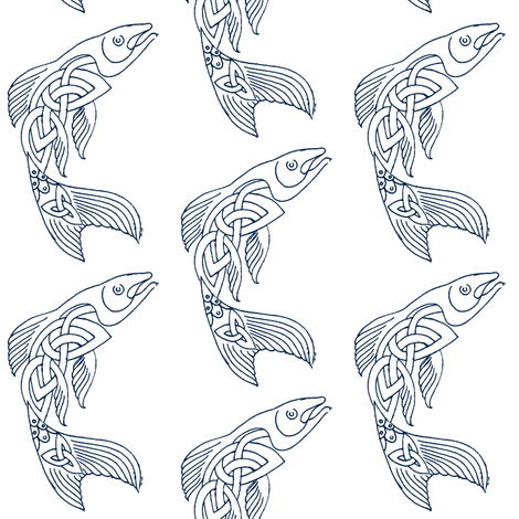 poissons d 39 avril 2017 fabric amyvail spoonflower. Black Bedroom Furniture Sets. Home Design Ideas