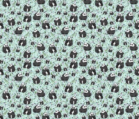 Pandas fabric by nemki on Spoonflower - custom fabric