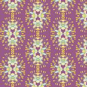 2941 Phebalium Central Motif Purple