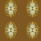 2941 Phebalium Central Motif-Bronze