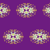 2941 Phebalium Central Motif Puce