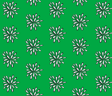 flower_nature fabric by quest on Spoonflower - custom fabric
