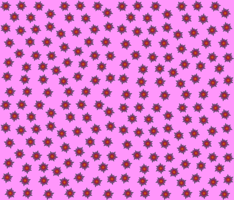 Floral_Cutouts_Small fabric by cafe_projections on Spoonflower - custom fabric