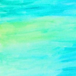 Aqua watercolor