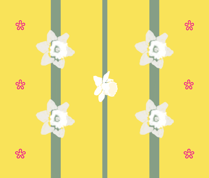 daffodilpaper fabric by suzy_q_designs_studio on Spoonflower - custom fabric