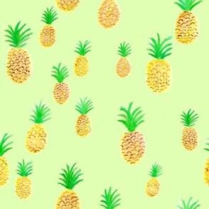 Pineapple on Green