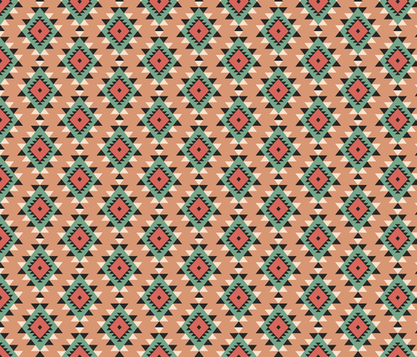 AZTEC fabric by ljscoloringbook on Spoonflower - custom fabric