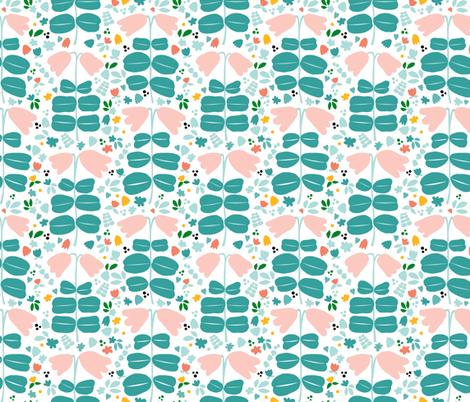 Arctic Twinflowers fabric by minikuosi on Spoonflower - custom fabric