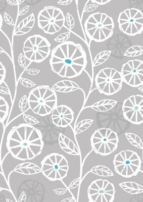 Papercut blooms