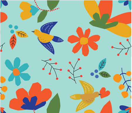 cut-leaves fabric by dale_coykendall on Spoonflower - custom fabric